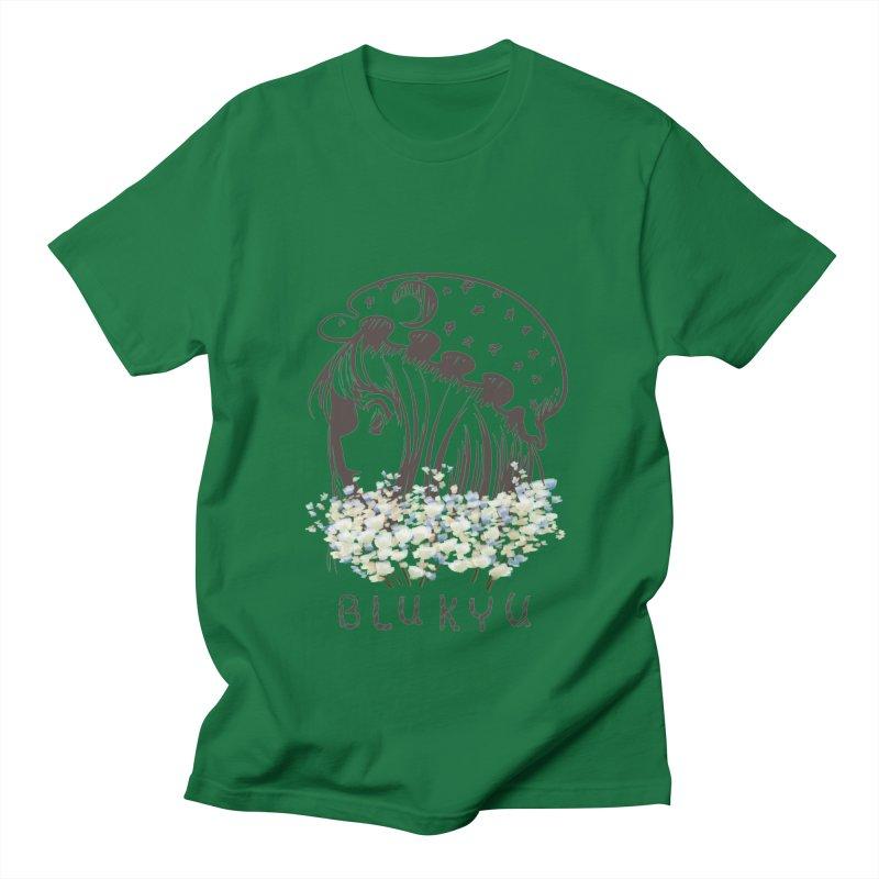 BLUKYU light color version Men's T-Shirt by kelletdesign's Artist Shop