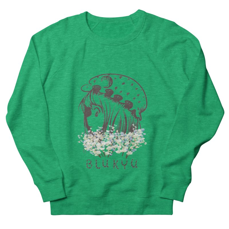 BLUKYU light color version Women's Sweatshirt by kelletdesign's Artist Shop
