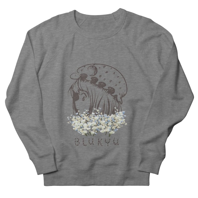 BLUKYU light color version Men's French Terry Sweatshirt by kelletdesign's Artist Shop