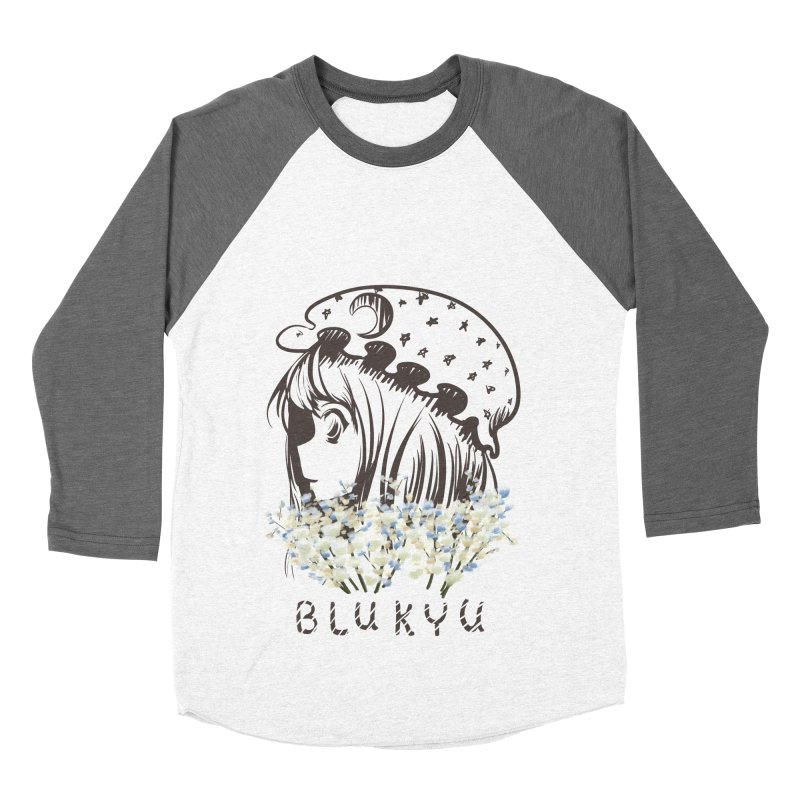 BLUKYU light color version Women's Baseball Triblend Longsleeve T-Shirt by kelletdesign's Artist Shop