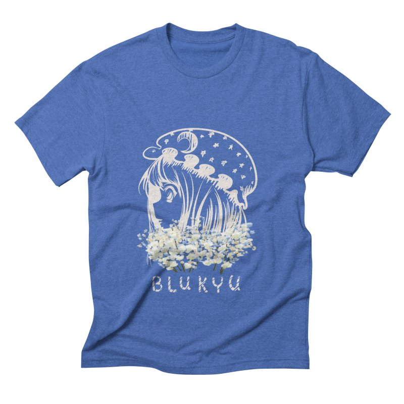 BLUKYU darker color version Men's T-Shirt by kelletdesign's Artist Shop