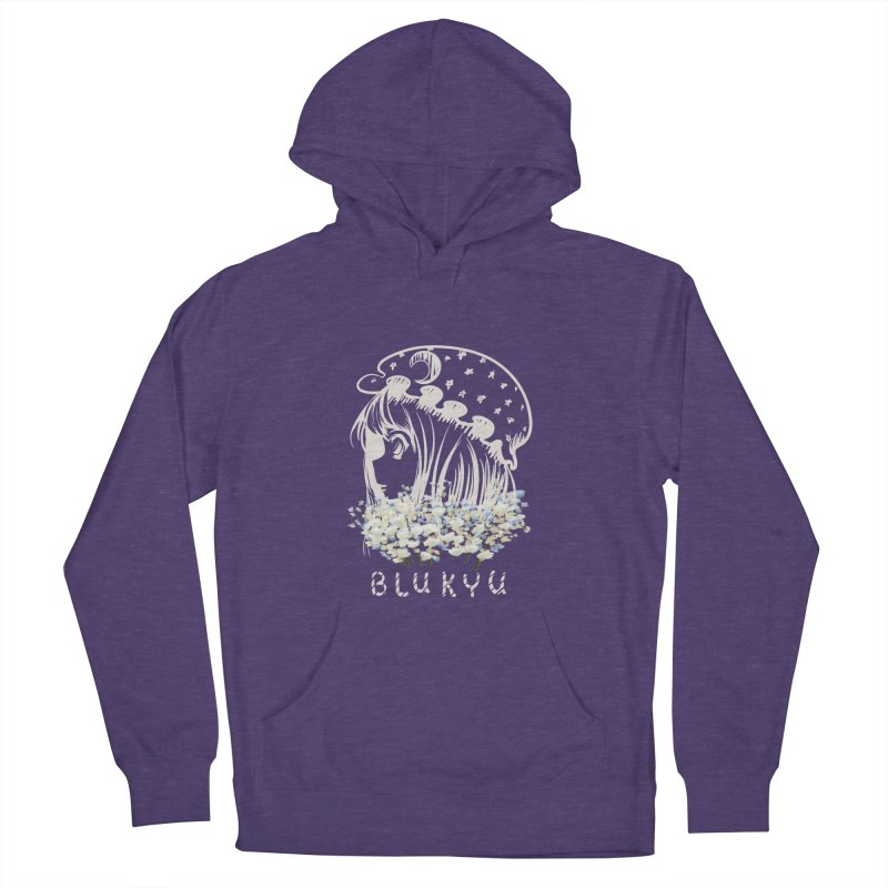 BLUKYU darker color version Women's Pullover Hoody by kelletdesign's Artist Shop