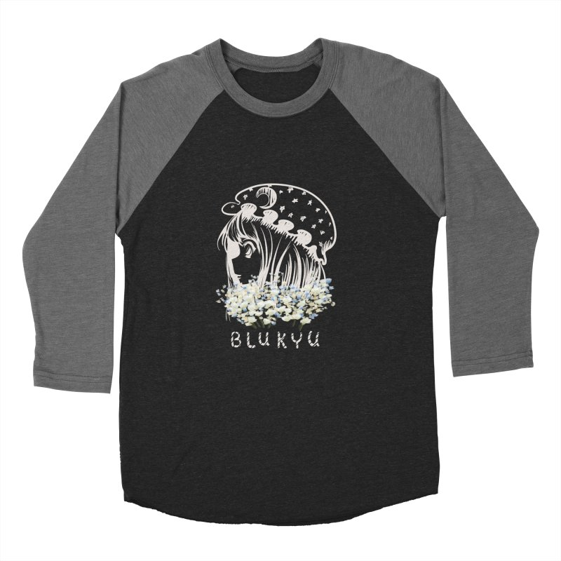 BLUKYU darker color version Women's Longsleeve T-Shirt by kelletdesign's Artist Shop