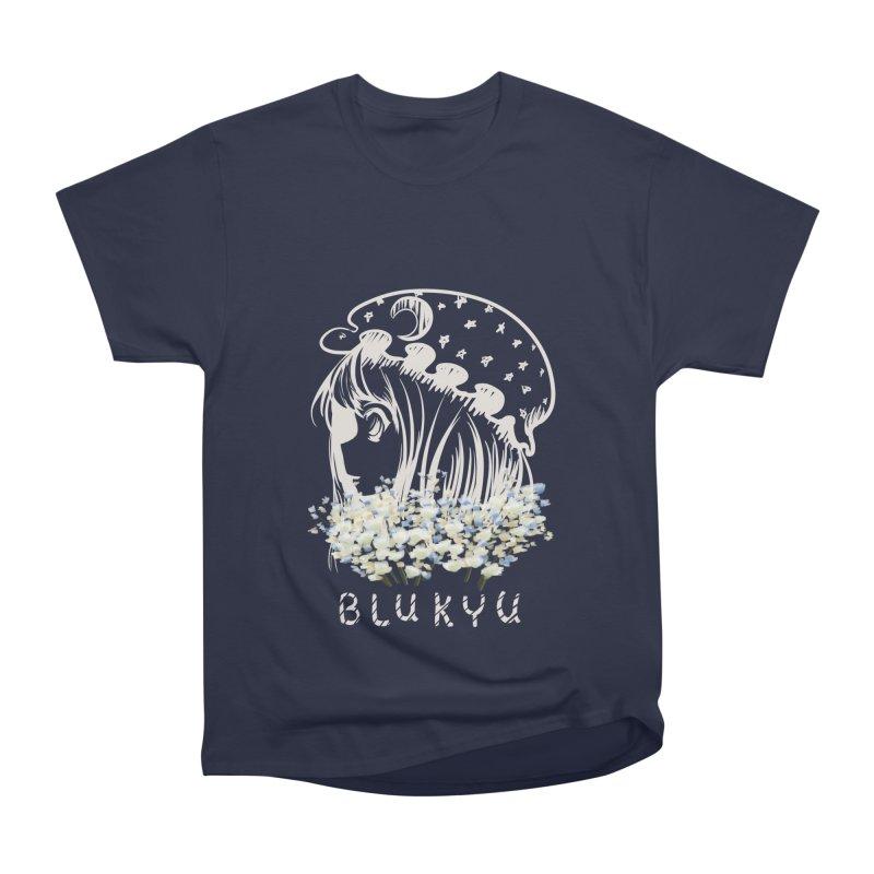 BLUKYU darker color version Women's Heavyweight Unisex T-Shirt by kelletdesign's Artist Shop