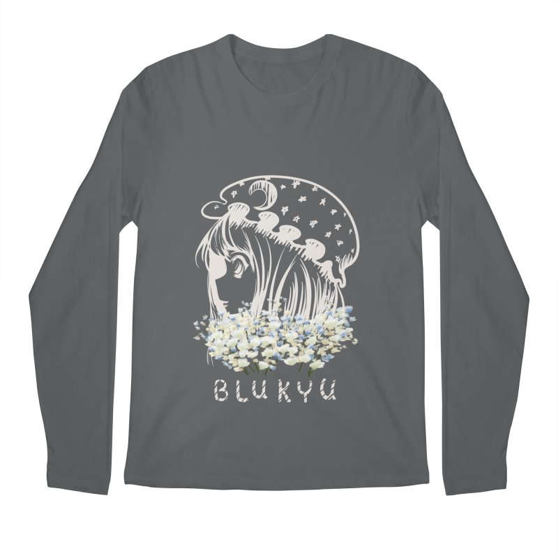 BLUKYU darker color version Men's Longsleeve T-Shirt by kelletdesign's Artist Shop