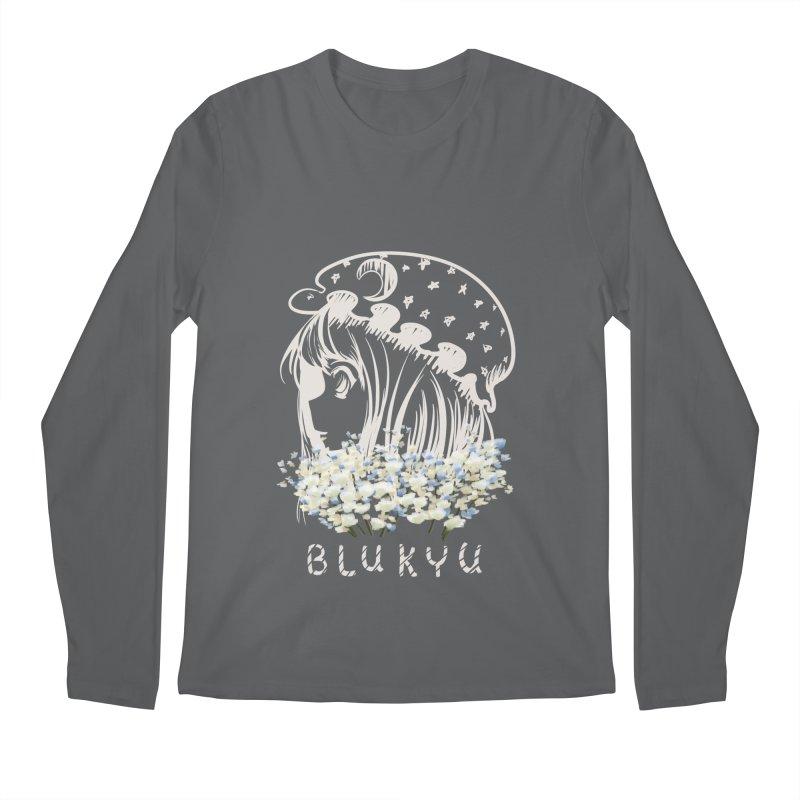 BLUKYU darker color version Men's Regular Longsleeve T-Shirt by kelletdesign's Artist Shop