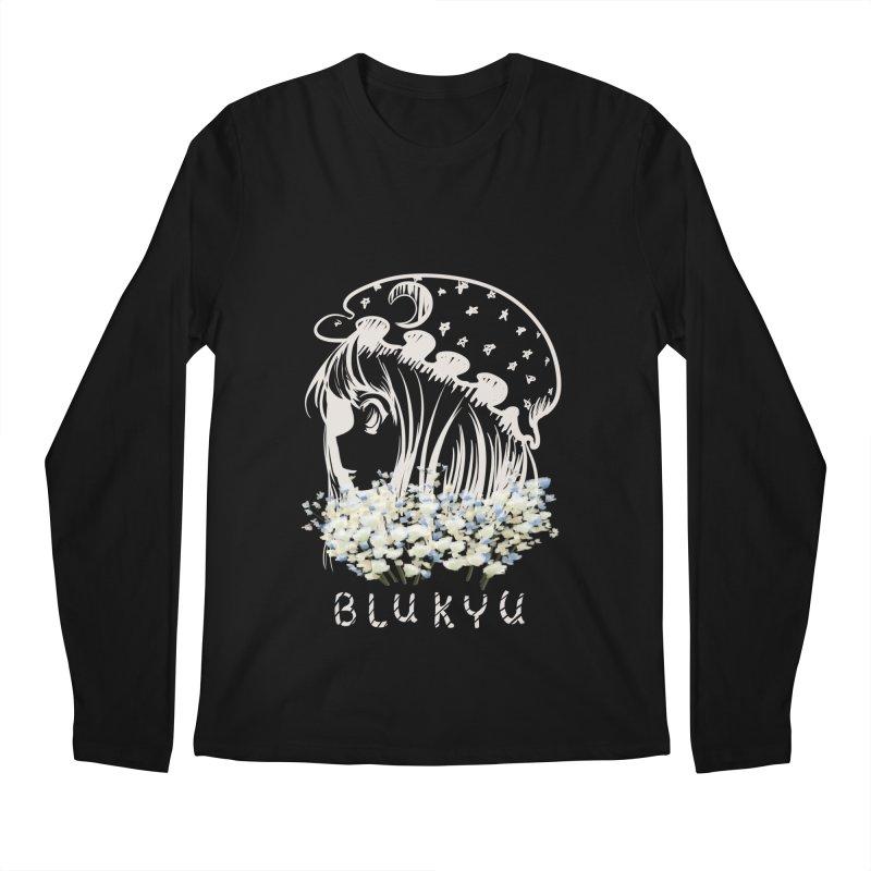 BLUKYU darker color version Men's Longsleeve T-Shirt by kelletdesign's Artist Shop