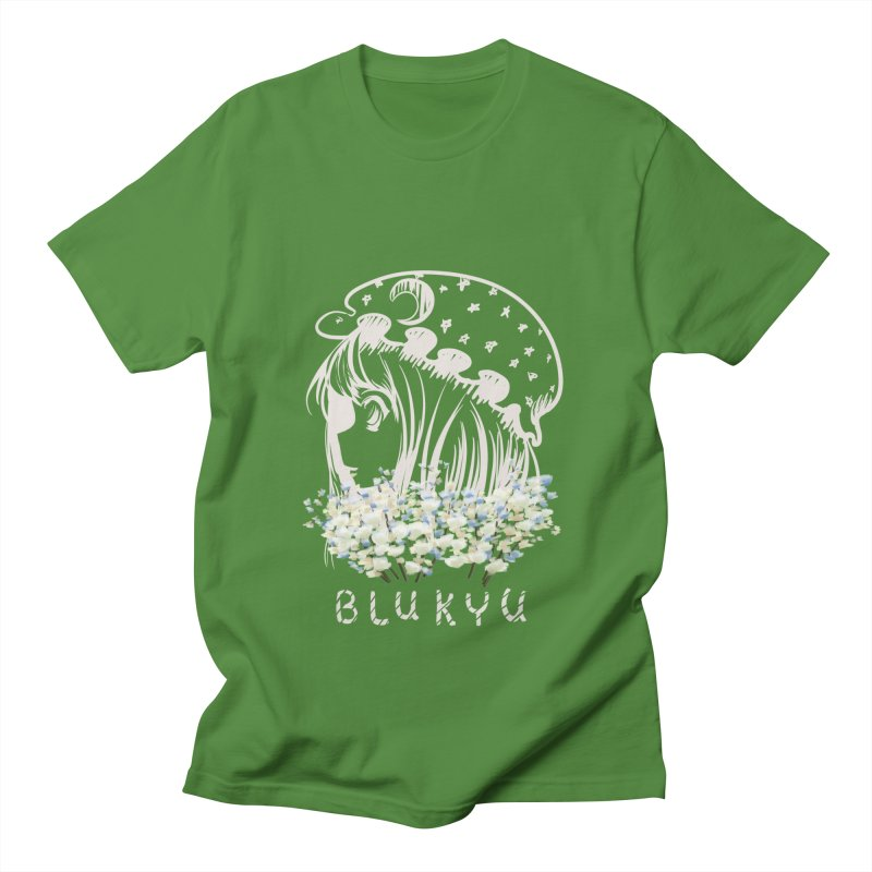 BLUKYU darker color version Men's T-Shirt by kelletdesign's Artist Shop