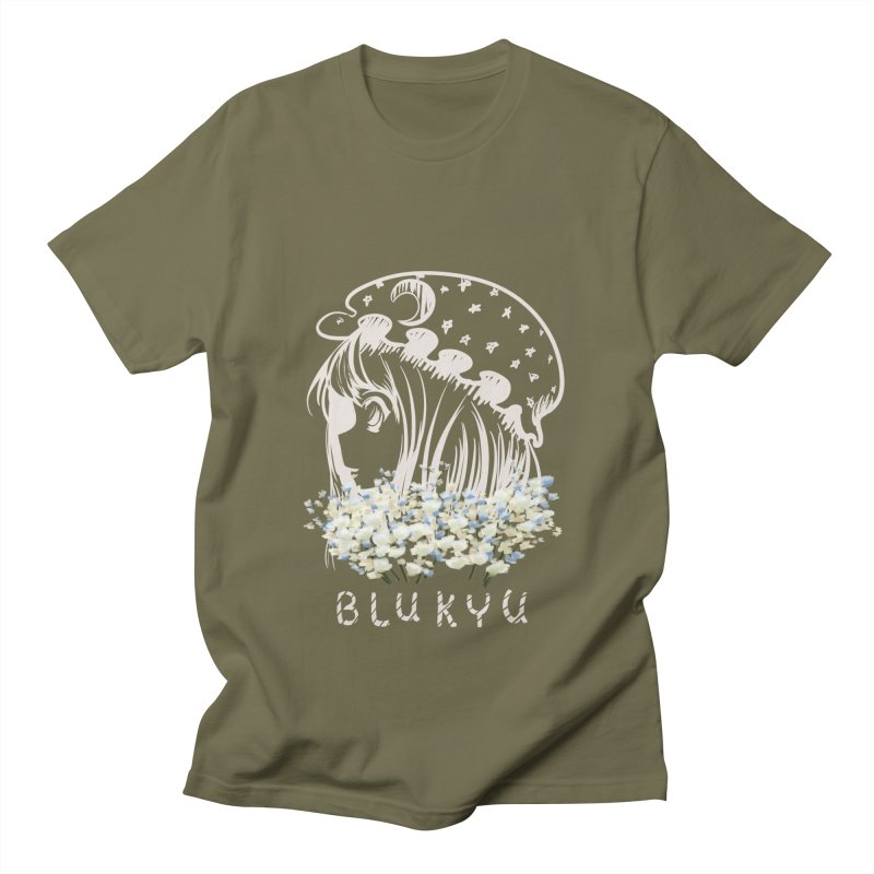 BLUKYU darker color version Men's Regular T-Shirt by kelletdesign's Artist Shop