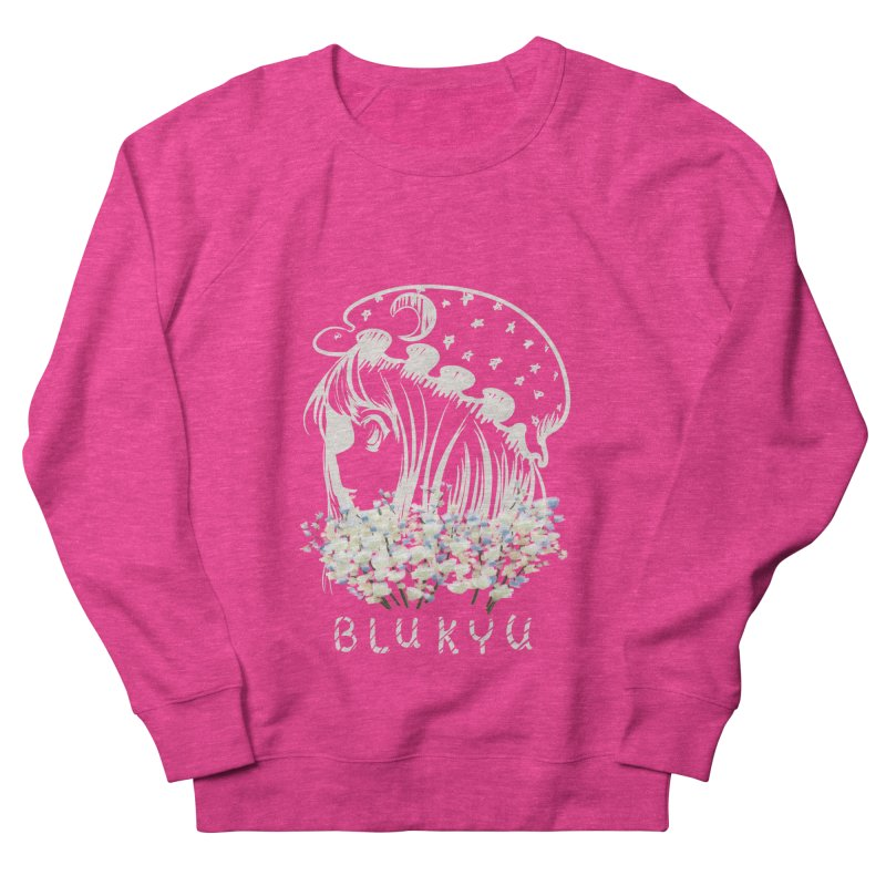 BLUKYU darker color version Women's Sweatshirt by kelletdesign's Artist Shop