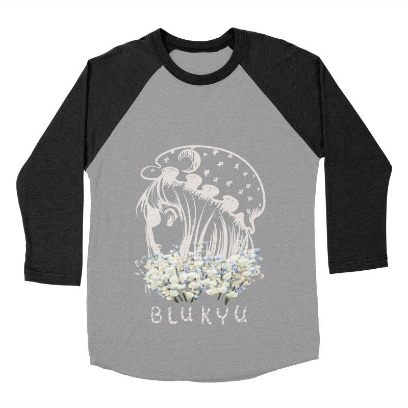 BLUKYU darker color version Women's Baseball Triblend Longsleeve T-Shirt by kelletdesign's Artist Shop