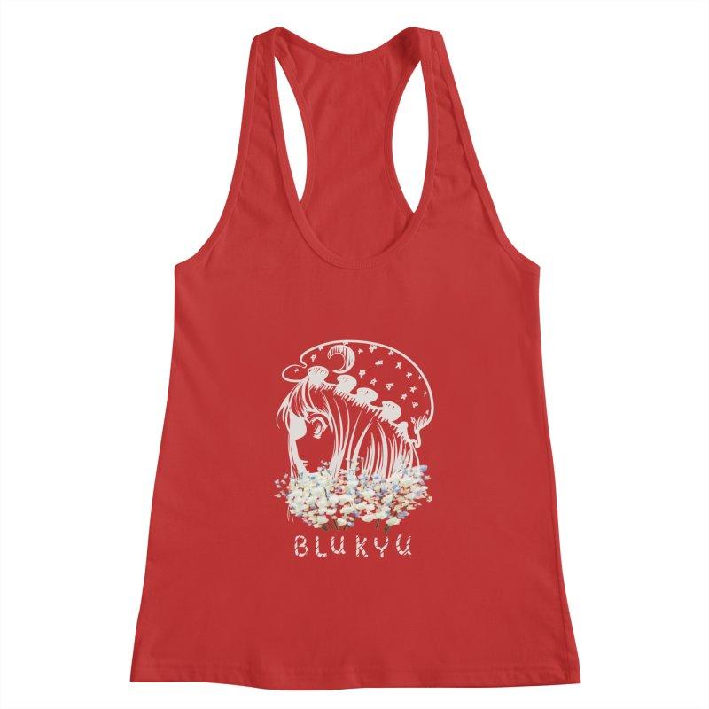 BLUKYU darker color version Women's Tank by kelletdesign's Artist Shop