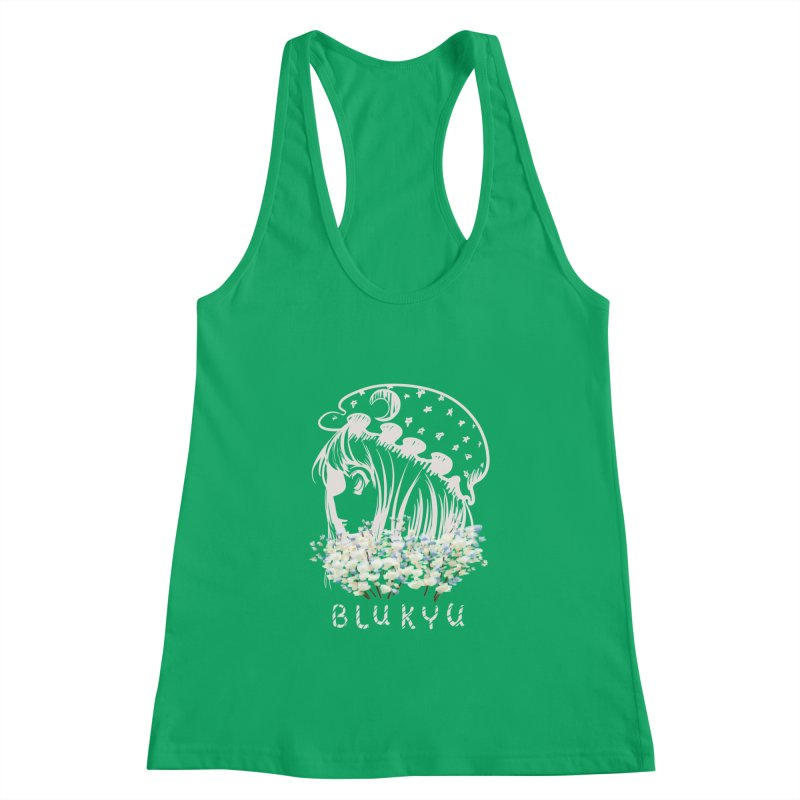 BLUKYU darker color version Women's Tank by kelletdesign's Artist Shop