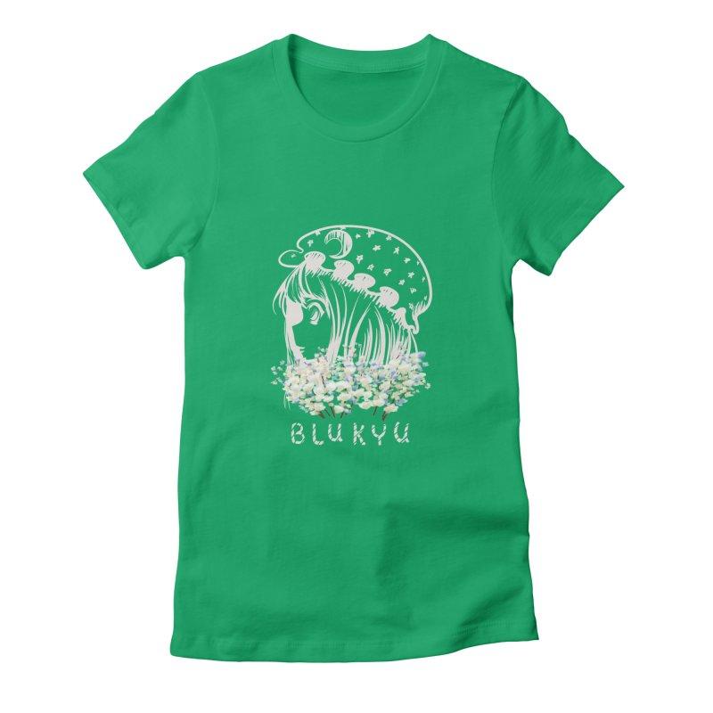 BLUKYU darker color version Women's T-Shirt by kelletdesign's Artist Shop