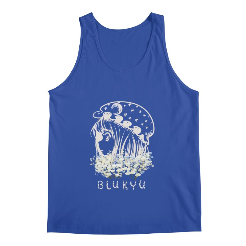BLUKYU darker color version Men's Tank by kelletdesign's Artist Shop