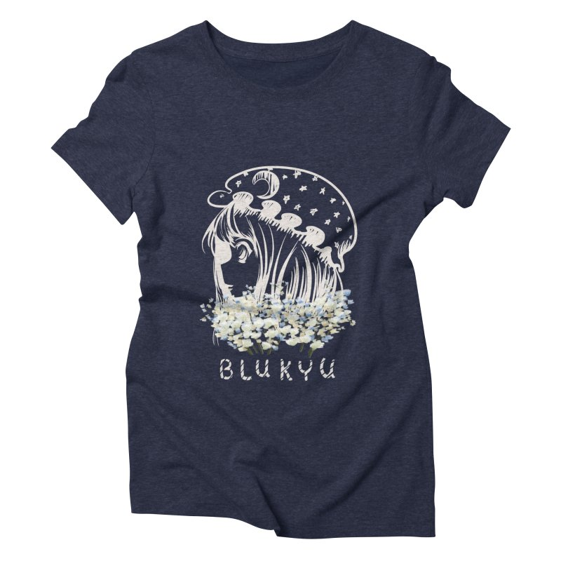 BLUKYU darker color version Women's T-Shirt by kelletdesign's Artist Shop