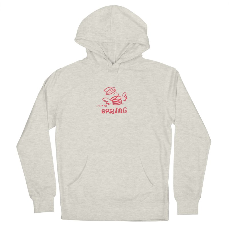 SPRING Men's French Terry Pullover Hoody by kelletdesign's Artist Shop