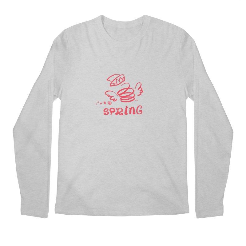 SPRING Men's Regular Longsleeve T-Shirt by kelletdesign's Artist Shop
