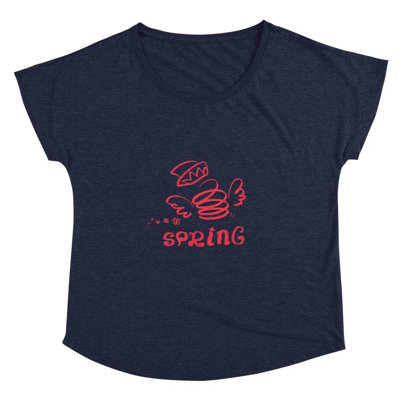 SPRING Women's Scoop Neck by kelletdesign's Artist Shop