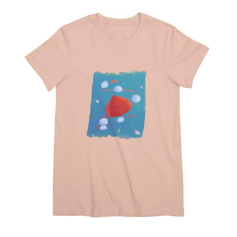 Ayaya cap Women's Premium T-Shirt by kelletdesign's Artist Shop