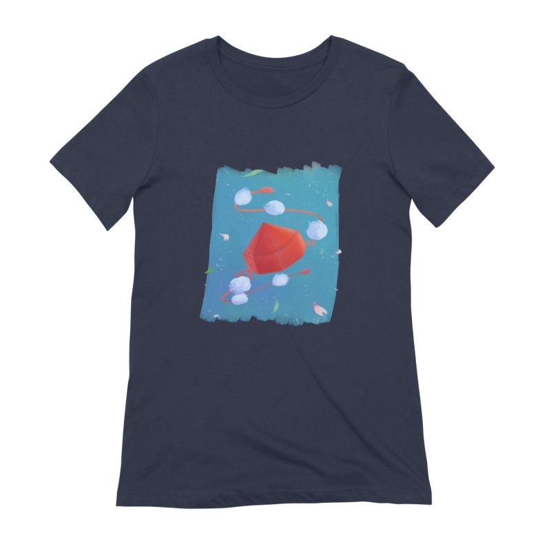Ayaya cap Women's Extra Soft T-Shirt by kelletdesign's Artist Shop
