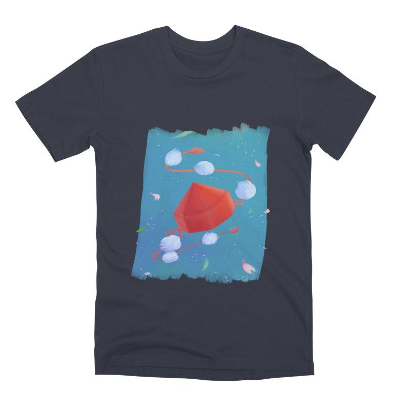 Ayaya cap Men's Premium T-Shirt by kelletdesign's Artist Shop