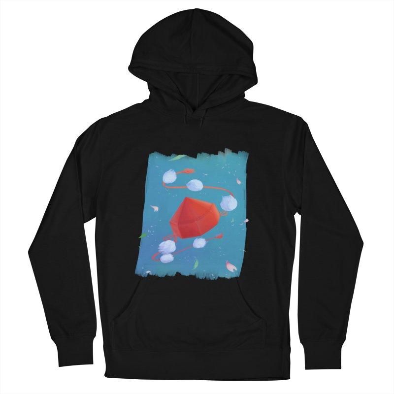 Ayaya cap Women's French Terry Pullover Hoody by kelletdesign's Artist Shop