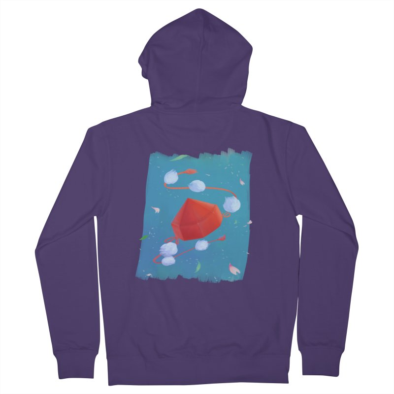 Ayaya cap Women's Zip-Up Hoody by kelletdesign's Artist Shop