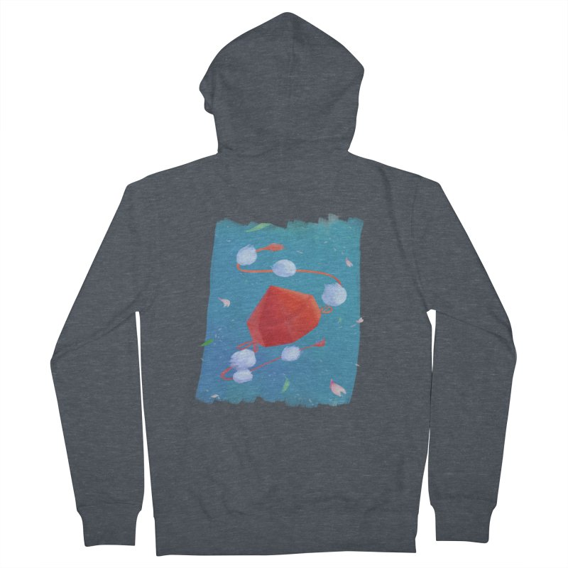 Ayaya cap Men's Zip-Up Hoody by kelletdesign's Artist Shop