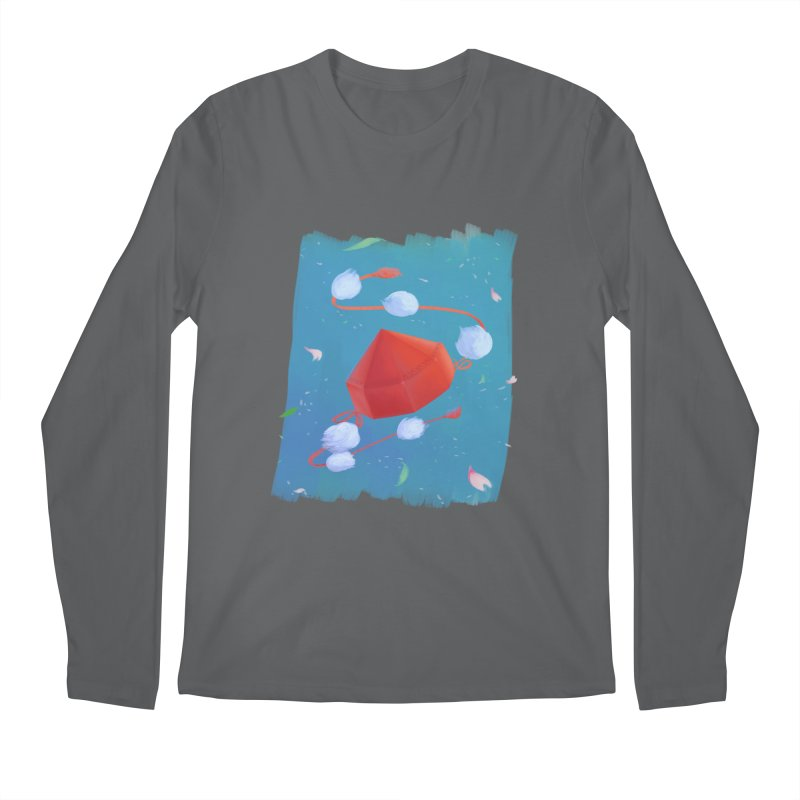 Ayaya cap Men's Longsleeve T-Shirt by kelletdesign's Artist Shop