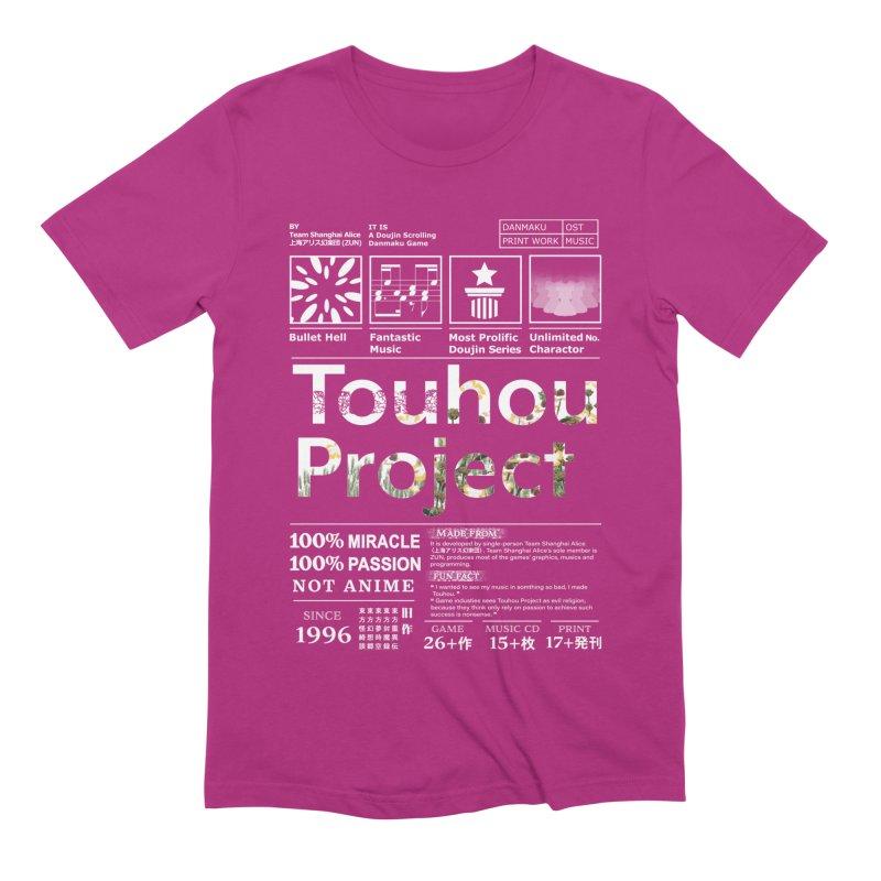 Proud of Touhou dark blue version Men's Extra Soft T-Shirt by kelletdesign's Artist Shop