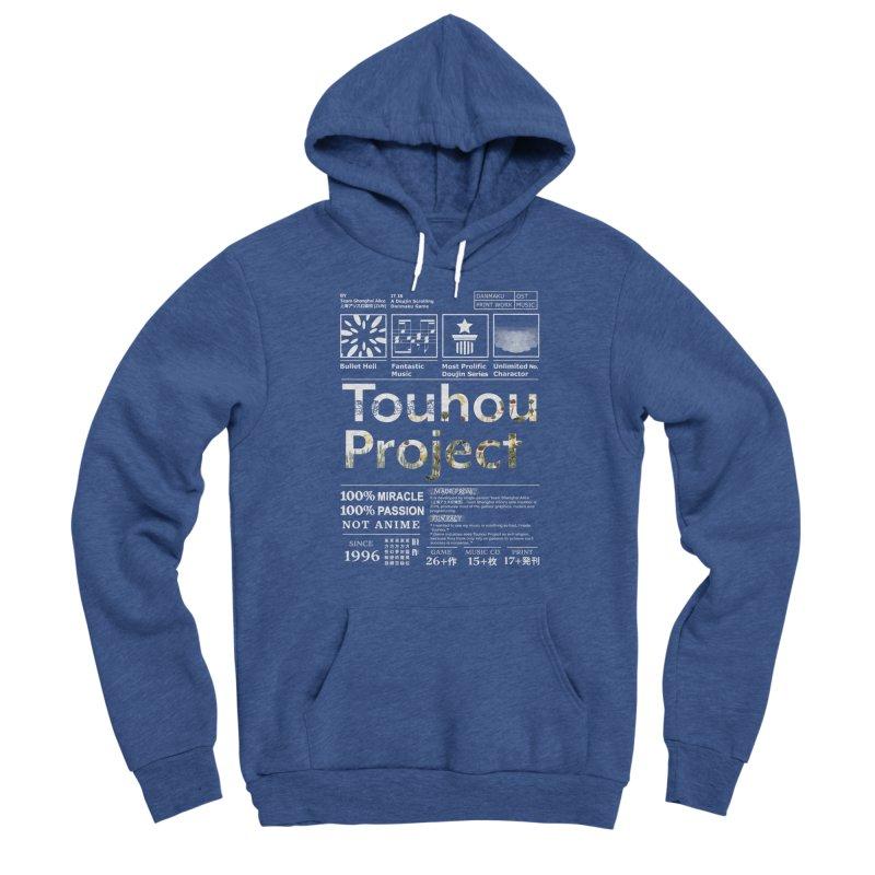 Proud of Touhou dark blue version Men's Pullover Hoody by kelletdesign's Artist Shop