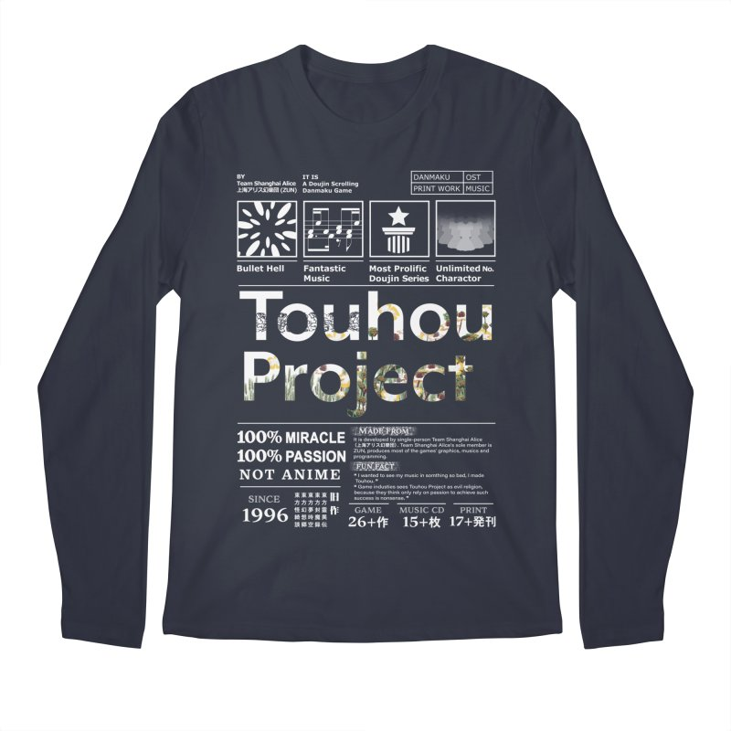 Proud of Touhou dark blue version Men's Longsleeve T-Shirt by kelletdesign's Artist Shop