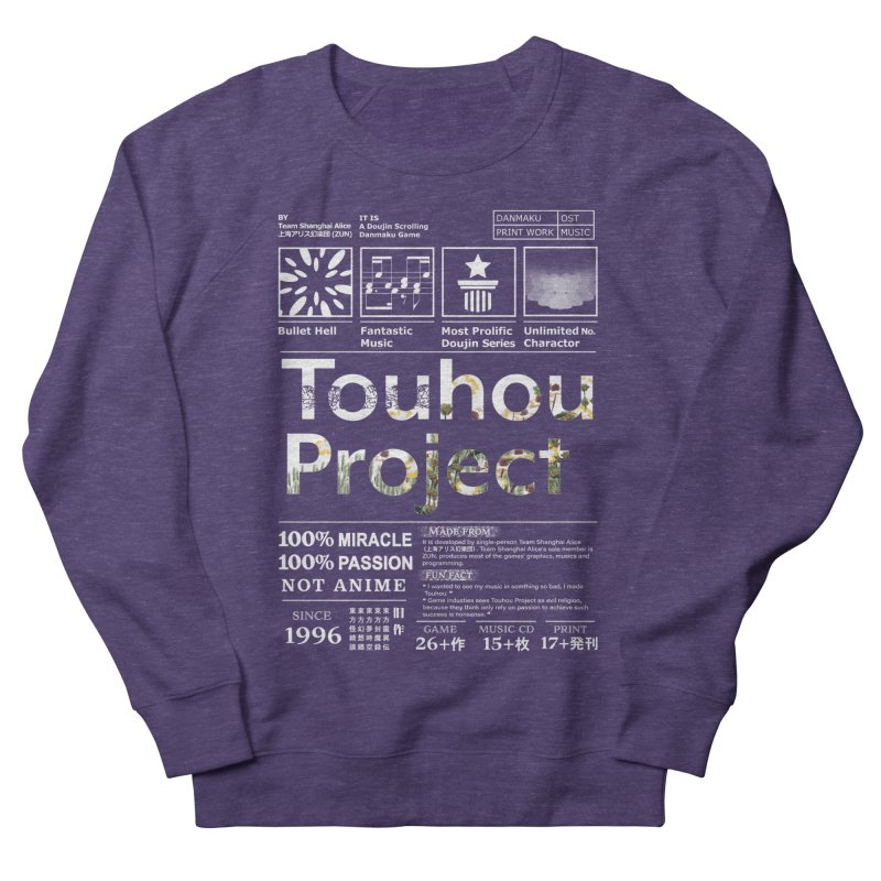 Proud of Touhou dark blue version Men's French Terry Sweatshirt by kelletdesign's Artist Shop