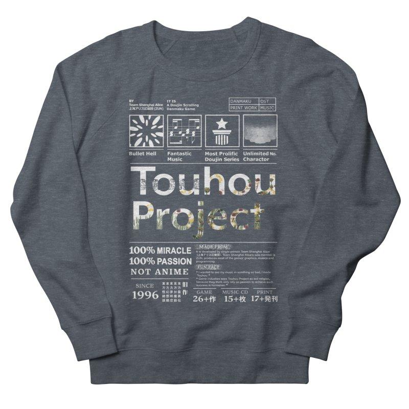 Proud of Touhou dark blue version Men's Sweatshirt by kelletdesign's Artist Shop