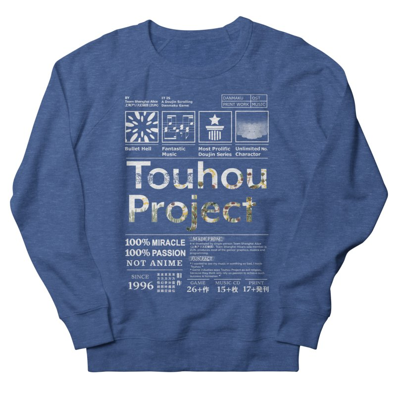 Proud of Touhou dark blue version Men's Sweatshirt by kelletdesign's Artist Shop