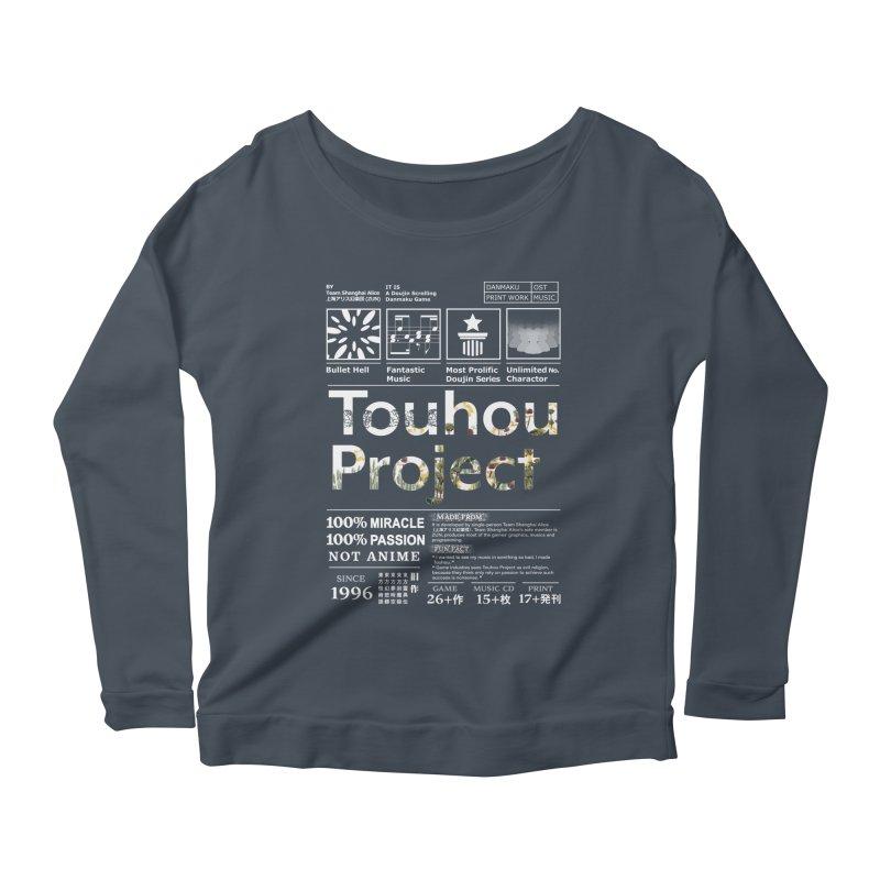 Proud of Touhou dark blue version Women's Longsleeve T-Shirt by kelletdesign's Artist Shop