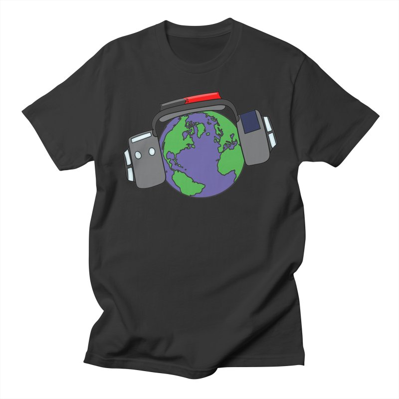 Muffs Around the Globe Men's T-Shirt by Kelsam's Merch