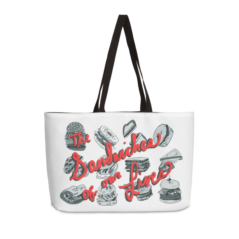 The Sandwiches of Our Lives Accessories Bag by Kelsey Zigmund Illustration