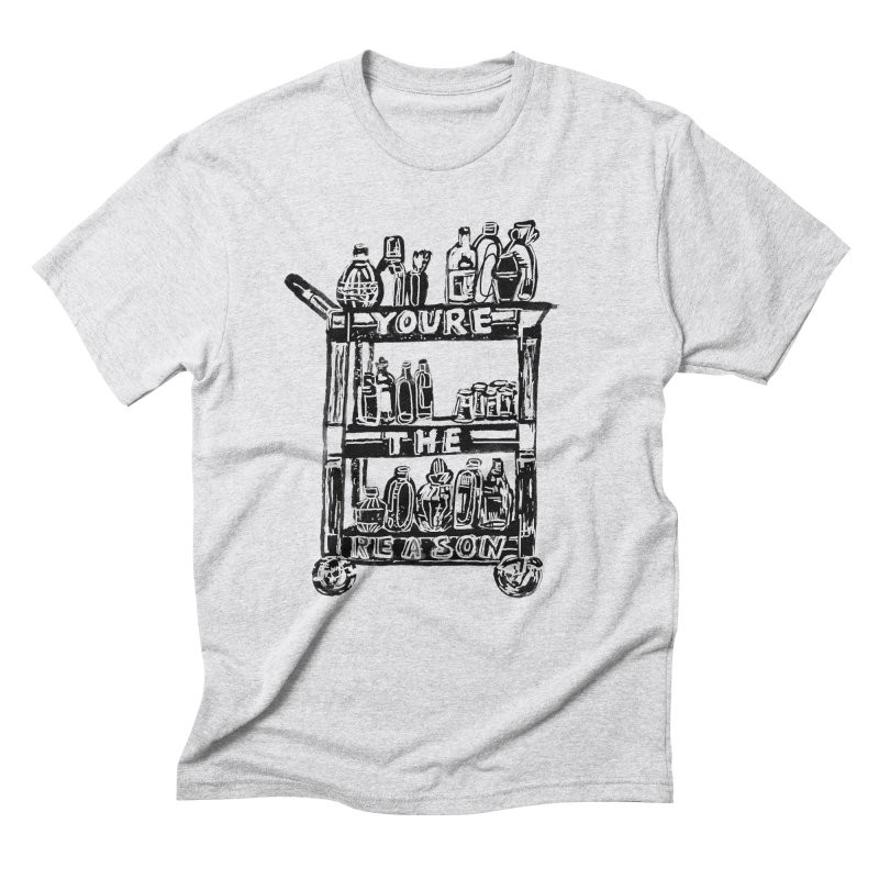 You're The Reason Men's T-Shirt by Kelsey Zigmund Illustration