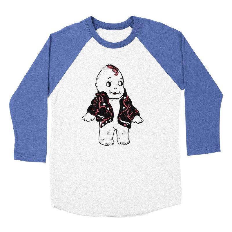 Rocknroll Cutie Women's Baseball Triblend Longsleeve T-Shirt by kelseyzigmund's Artist Shop