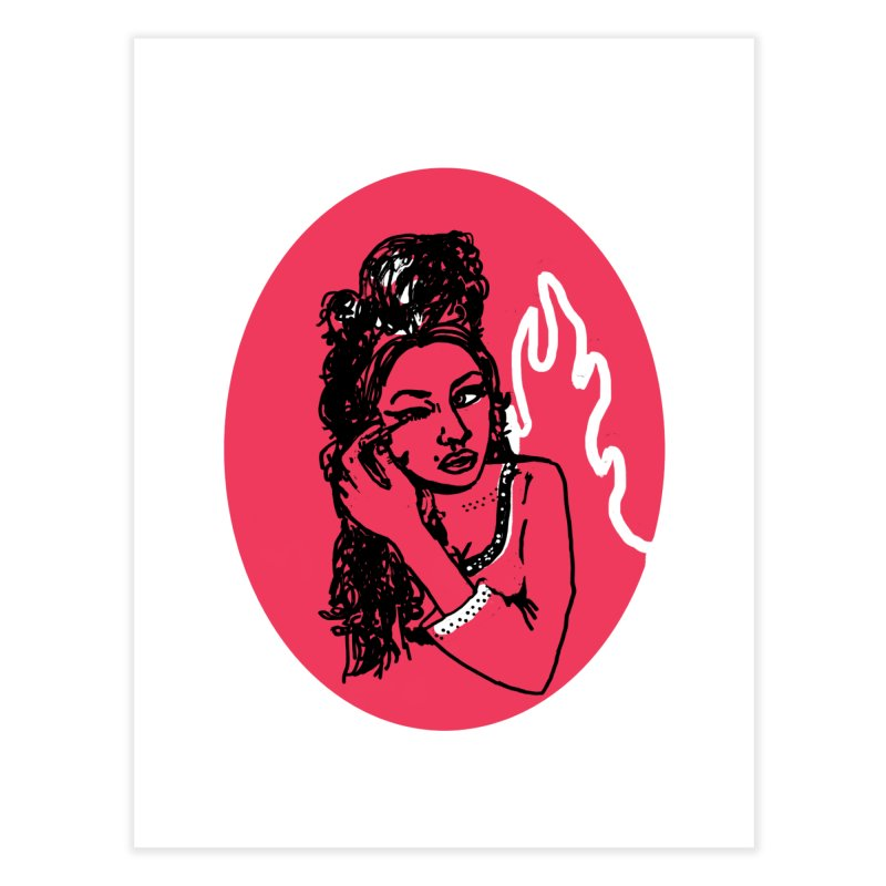 Winehouse (1983-2011) Home Fine Art Print by kelseyzigmund's Artist Shop