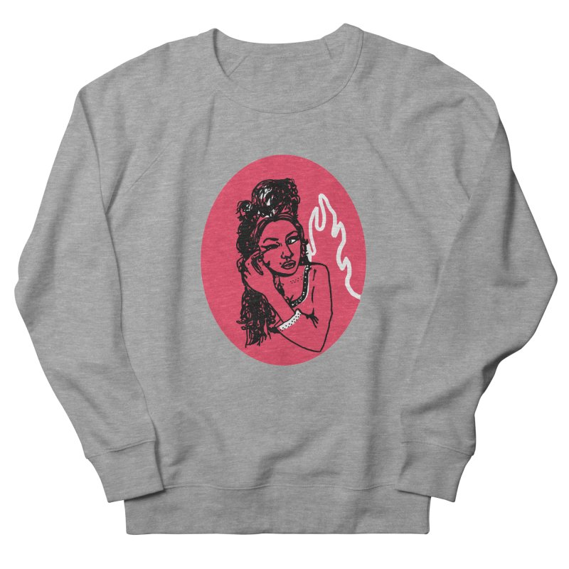 Winehouse (1983-2011) Men's French Terry Sweatshirt by kelseyzigmund's Artist Shop