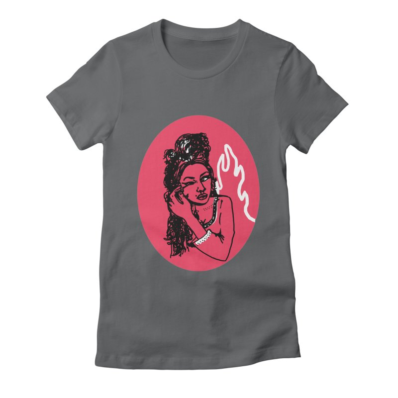 Winehouse (1983-2011) Women's T-Shirt by Kelsey Zigmund Illustration