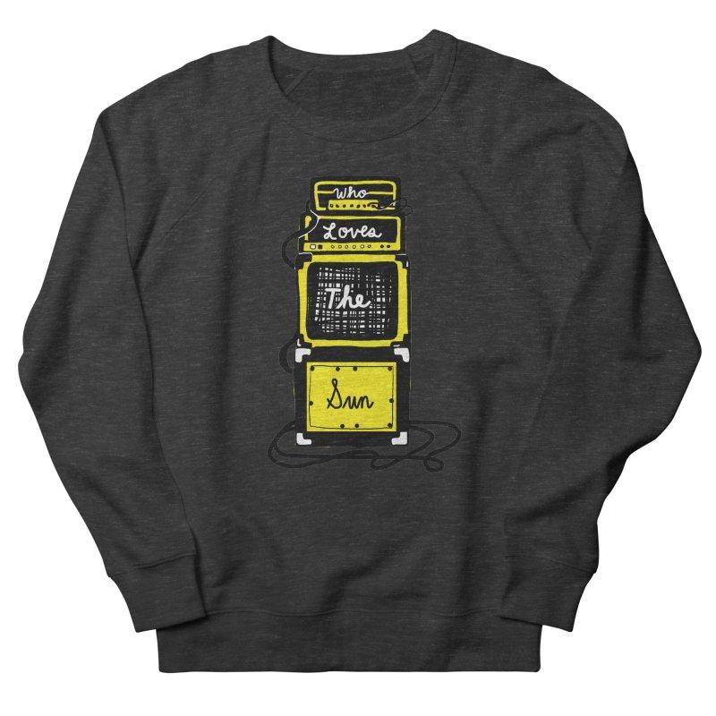 Who loves the sun? Men's Sweatshirt by Kelsey Zigmund Illustration