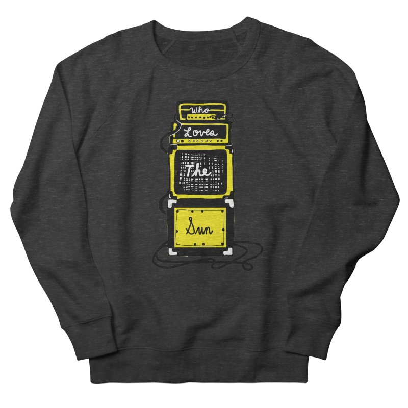 Who loves the sun? Men's French Terry Sweatshirt by Kelsey Zigmund Illustration