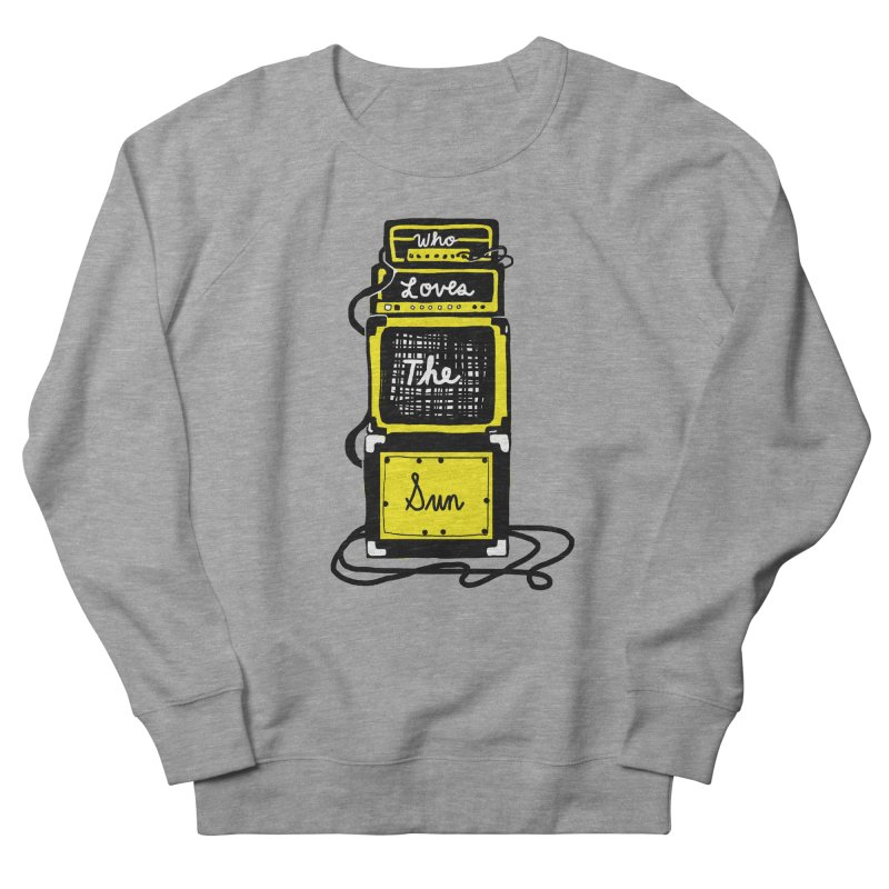 Who loves the sun? Men's Sweatshirt by Kelsey Zigmund Illustration