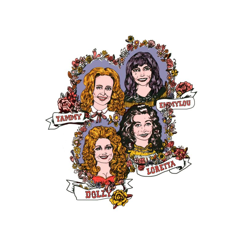 Ladies of Classic Country   by Kelsey Zigmund Illustration