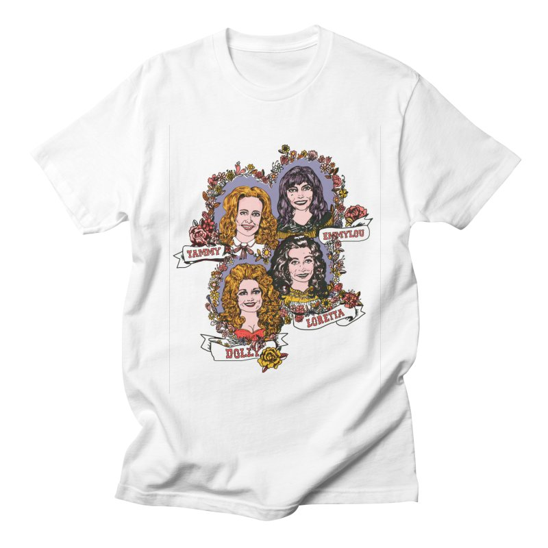 Ladies of Classic Country Men's T-Shirt by Kelsey Zigmund Illustration