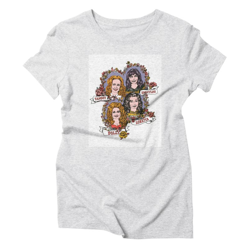 Ladies of Classic Country Women's T-Shirt by Kelsey Zigmund Illustration